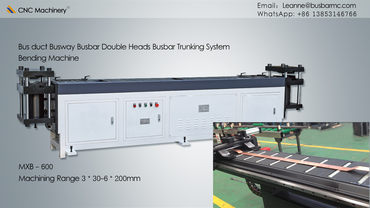 Double heads copper busbar bending machine busbar processing machine Busbar Assembly Line