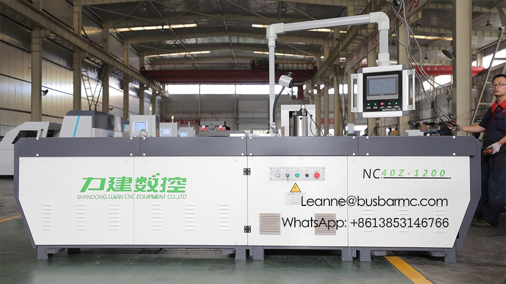 NC.40Z-1200 CNC Copper busbar Bending machine copper bending tool
