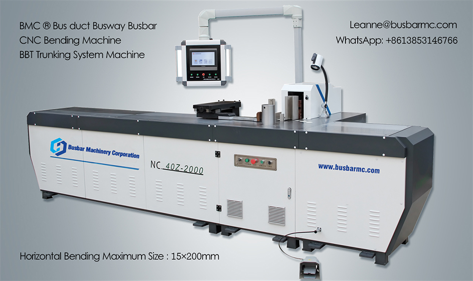 NC.40Z-2000 CNC Copper hydraulic busway bending machine